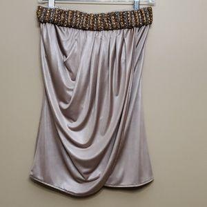Cache Embellished Skirt